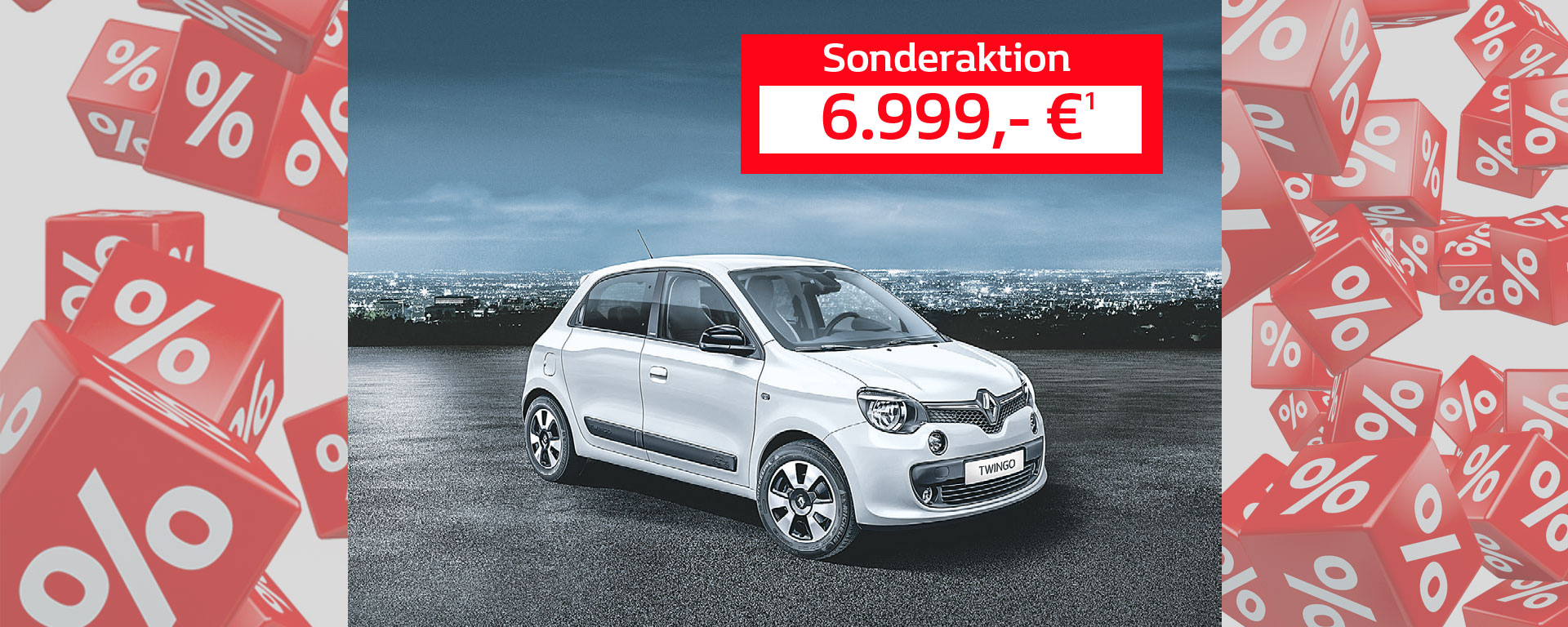 Renault Twingo - 6.999,- €