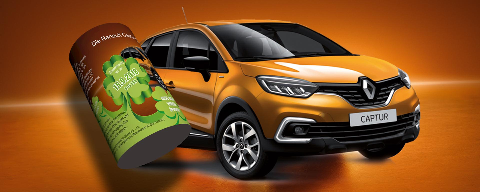 Renault und Dacia Tag