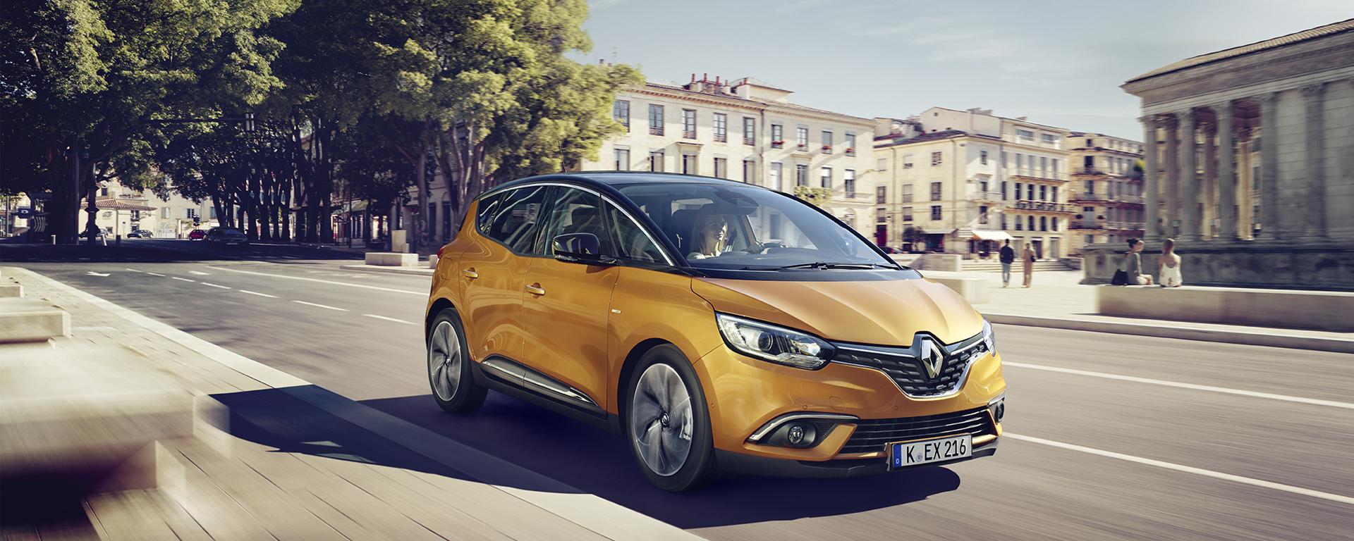 Bis zu 25% Rabatt auf Renault Scenic Vorführwagen